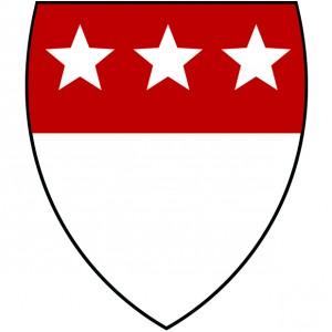Wappen Feckenhorst rot/weiß